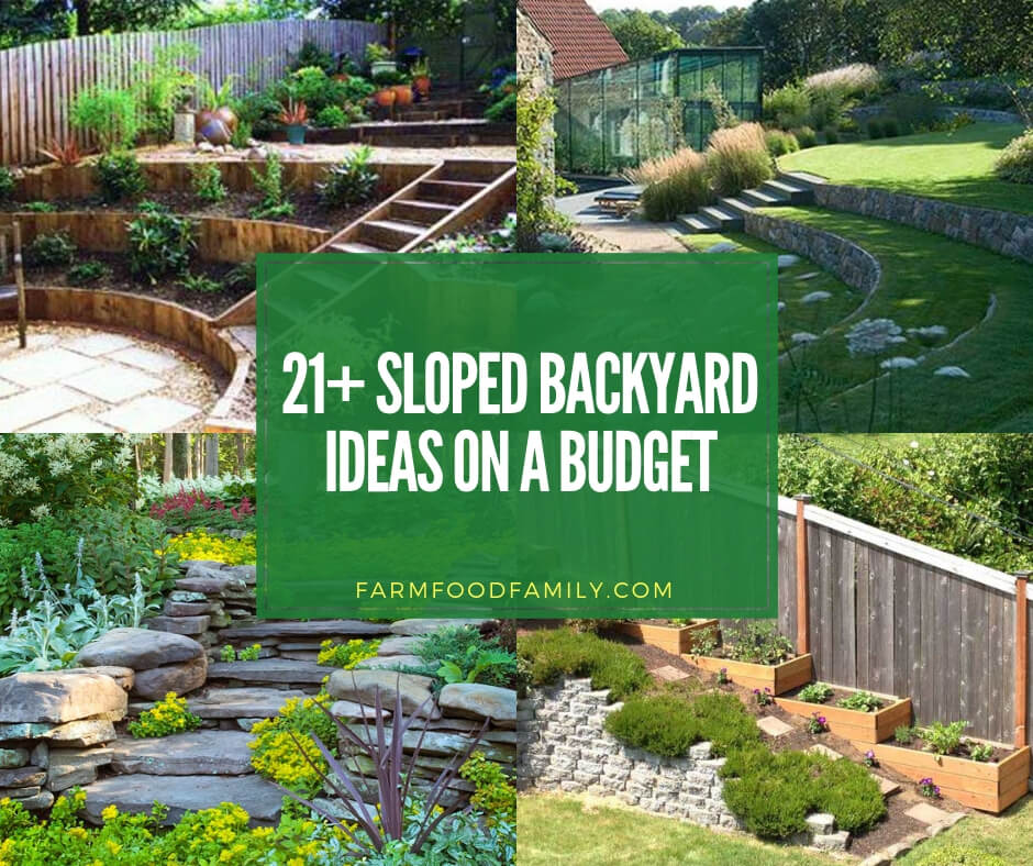 Landscaping Ideas In 2019: 21+ Best Sloped Backyard Ideas & Designs On A Budget For 2020