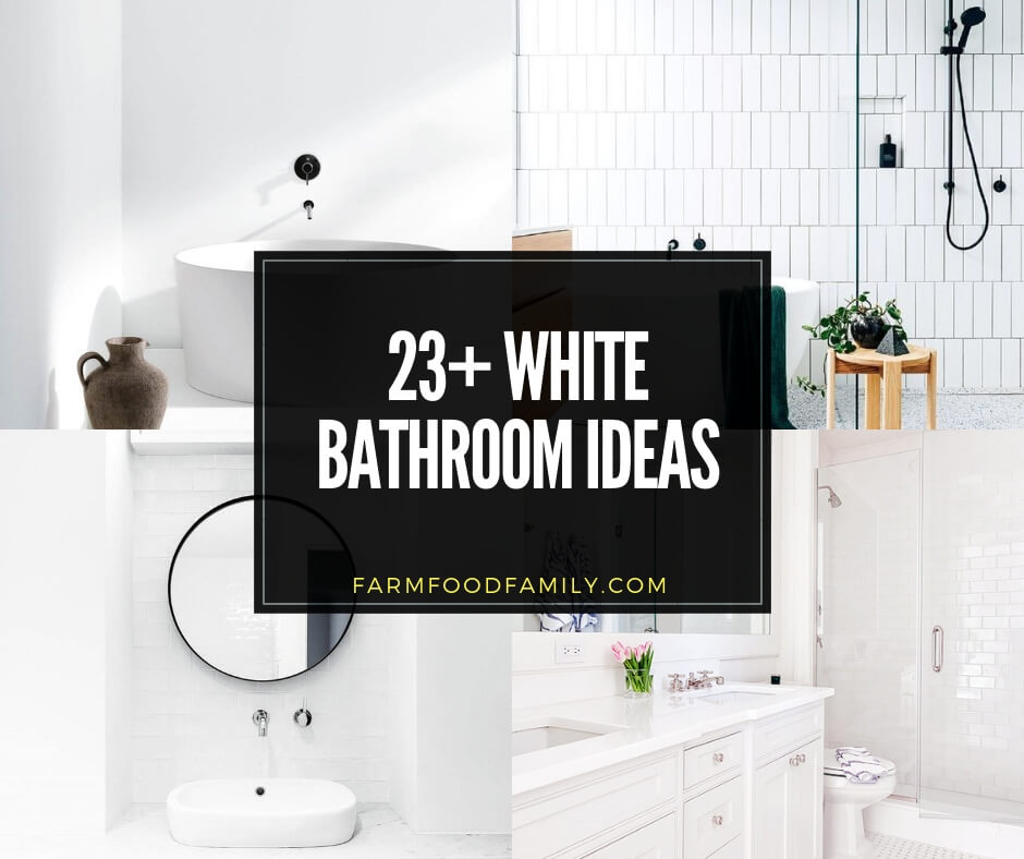 best white bathroom ideas
