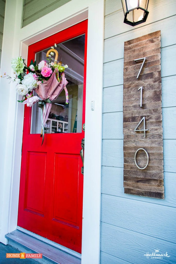 Easy DIY House Numbers Sign