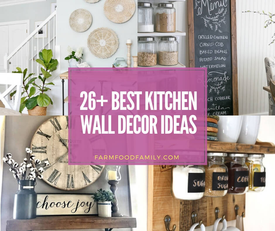 best kitchen wall decor ideas and photos
