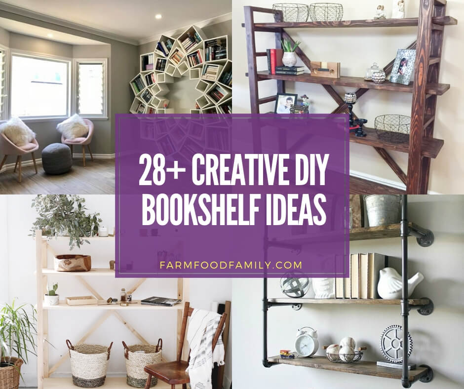 best diy bookshelf ideas