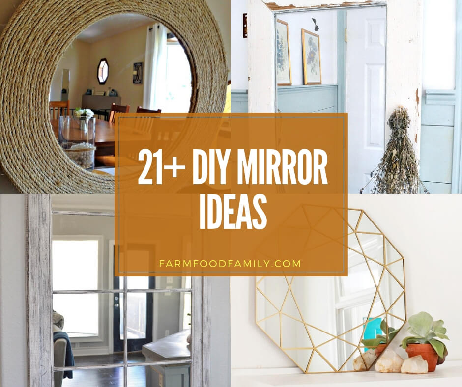 21 Best Diy Mirror Frame Ideas Fit Your Living Space