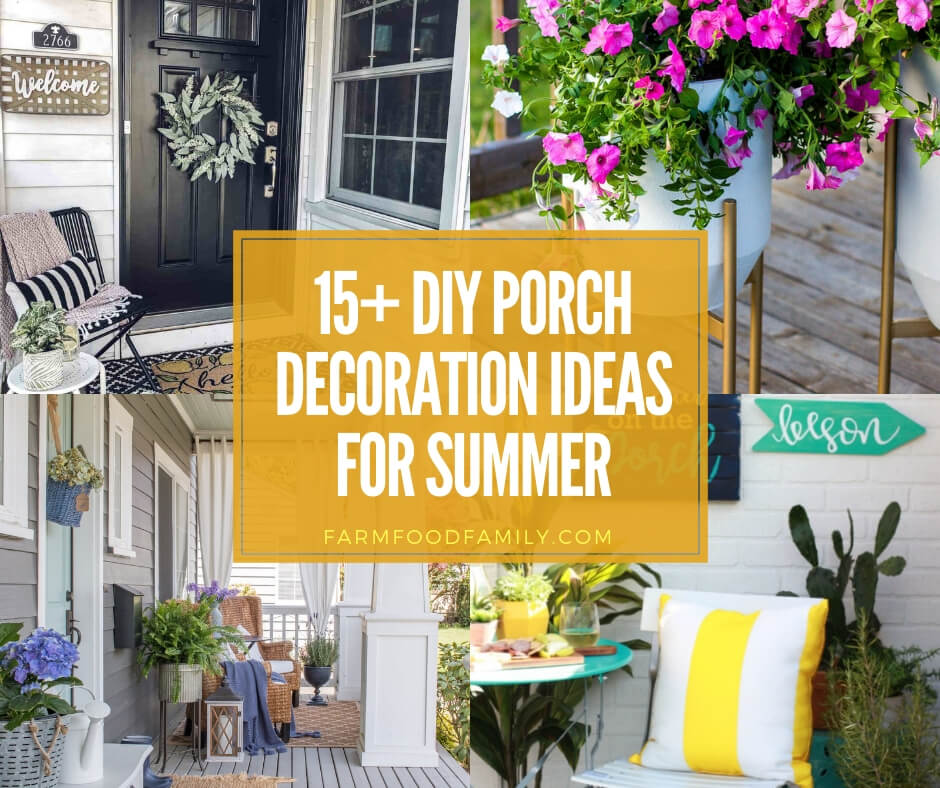 best diy porch decoration ideas for this Summer