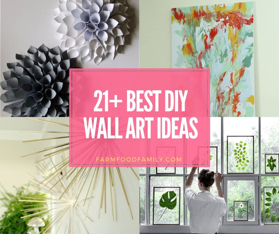 21 Creative Diy Wall Art Ideas And Projects For 2019