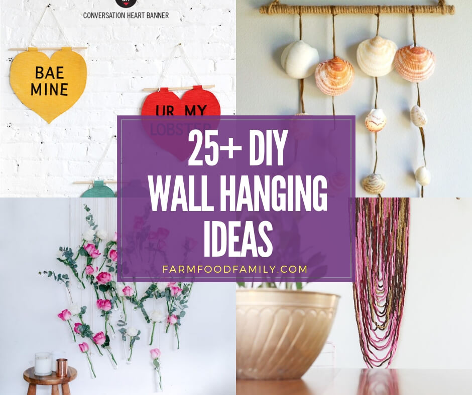 best diy wall hanging ideas