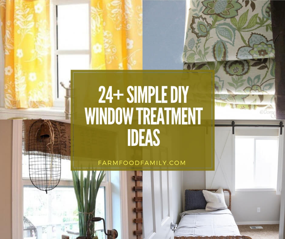 best diy window treatment ideas
