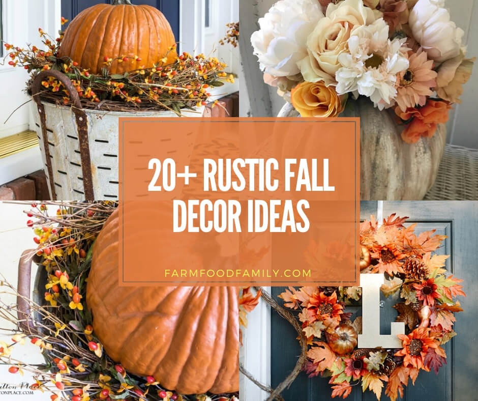 best rustic fall decoration ideas