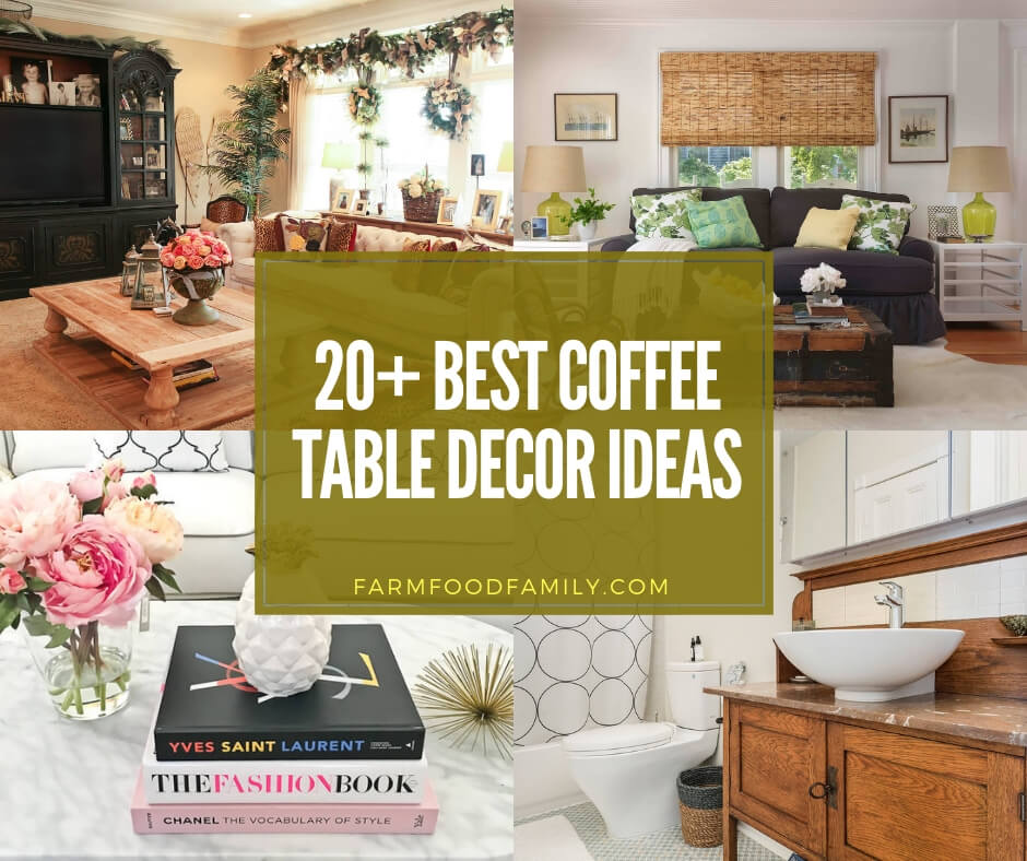 best coffee table decor ideas