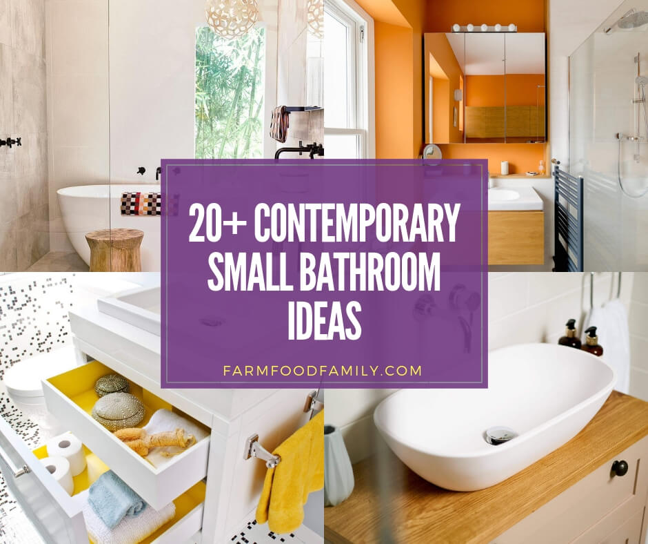 Best contemporary small bathroom ideas