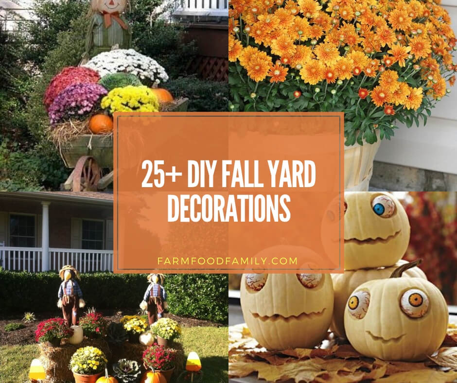 25 Best Fall Yard Decor Ideas And Designs Pumpkins Leaves For 2020