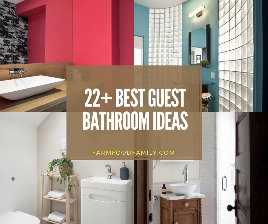 22 Best Guest Bathroom Ideas Designs For 2020