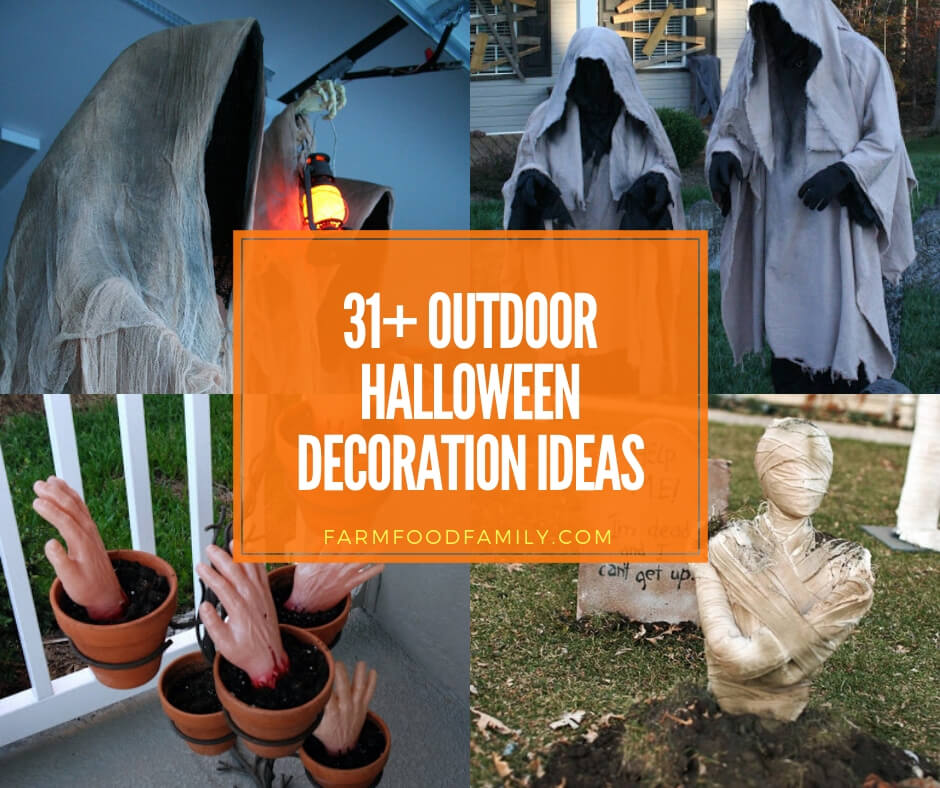 31+ Scary Halloween Outdoor Decoration Ideas To Try For 2020