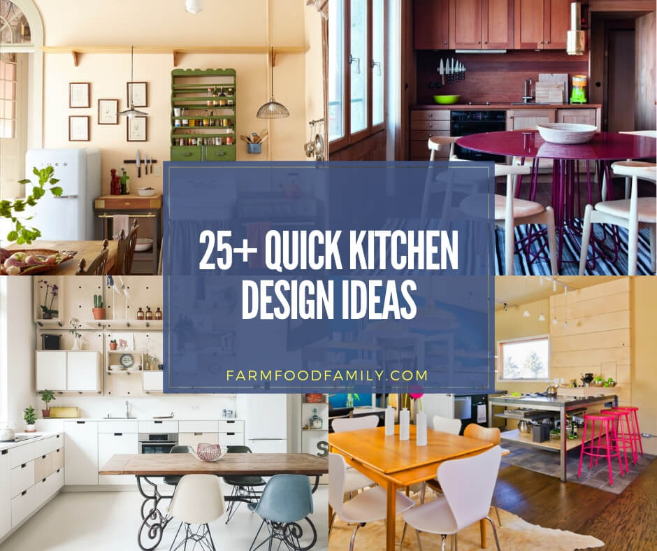 Remarkable 25 Quick Kitchen Designs And Ideas For 2019 Beutiful Home Inspiration Xortanetmahrainfo