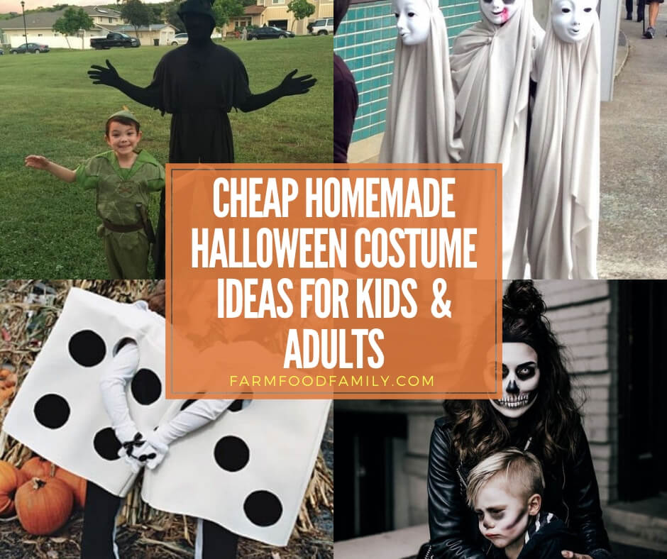 22 Inexpensive Costumes For Kids And Adults That Can Be