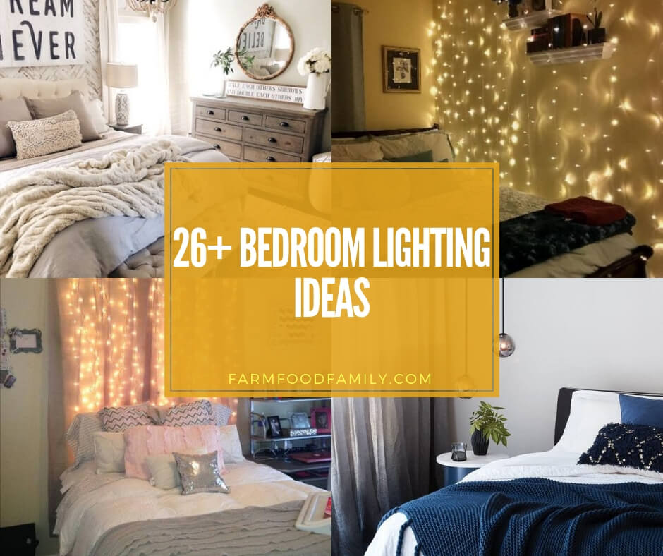 26 Beautiful Bedroom Lighting Decor Ideas Designs For 2020