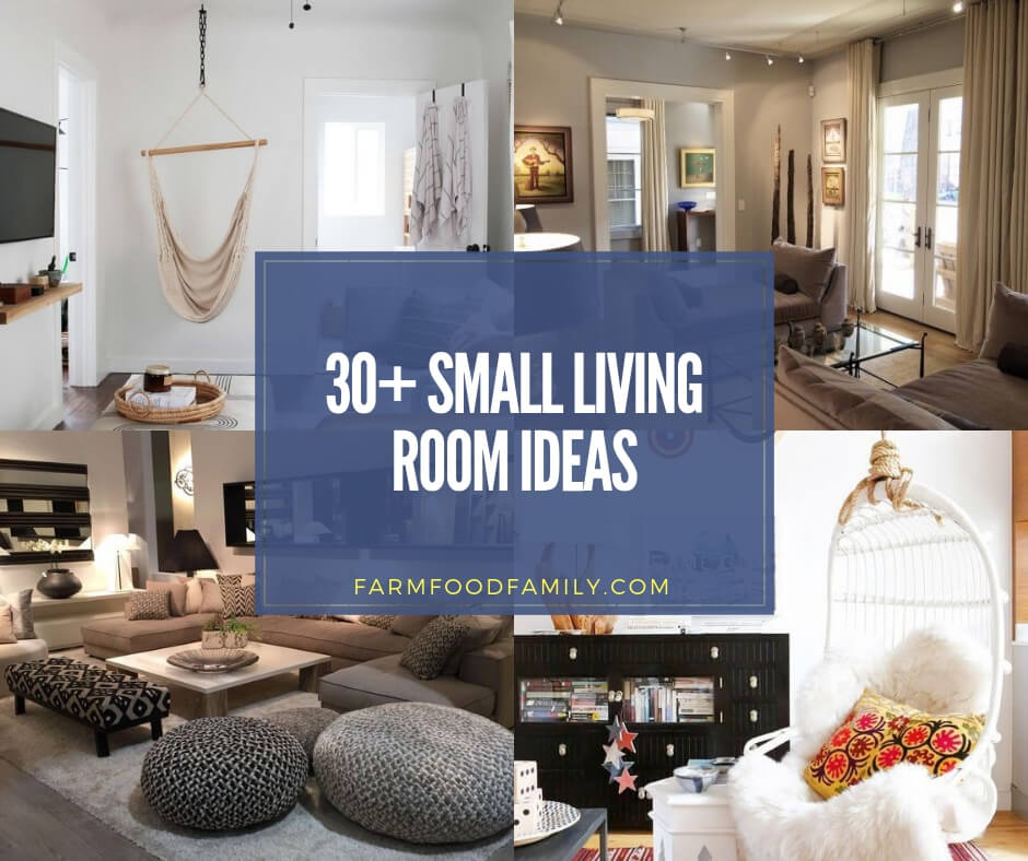 30+ Creative Small Living Room Ideas & Designs For 2020 ...