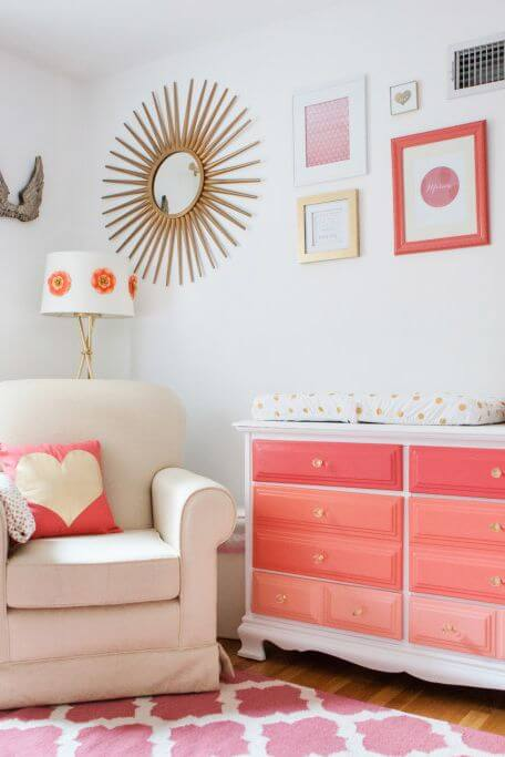 Paint on the toy closet - Clever DIY Toy Storage & Organization Ideas & Projects For Kids
