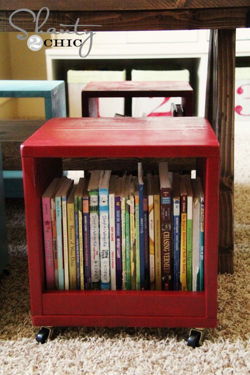 Double duty seething - Clever DIY Toy Storage & Organization Ideas & Projects For Kids