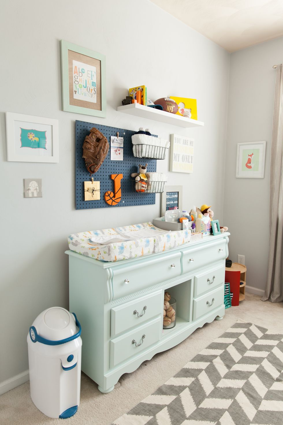 Adding a pegboard - Clever DIY Toy Storage & Organization Ideas & Projects For Kids