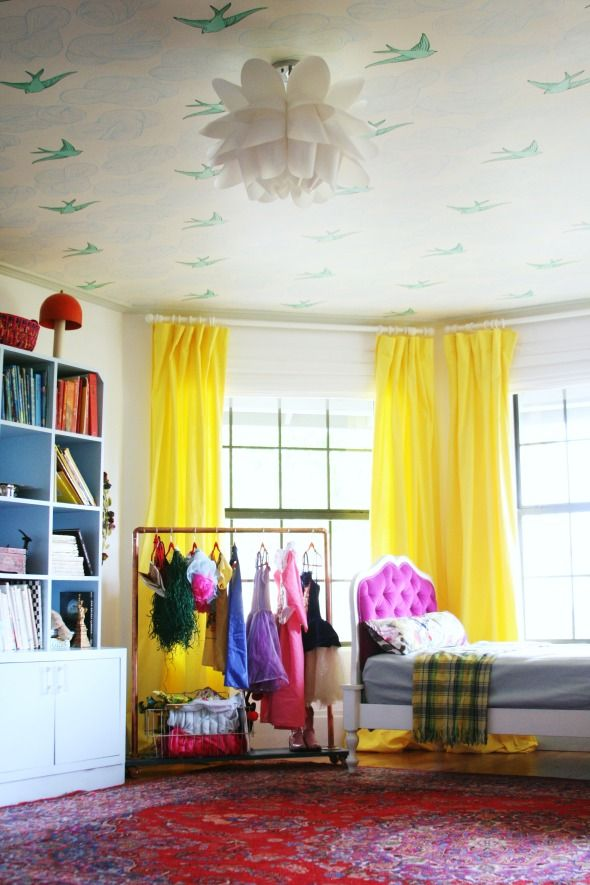 Make good use of old dresses - Clever DIY Toy Storage & Organization Ideas & Projects For Kids