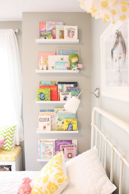 Make good use of the wall - Clever DIY Toy Storage & Organization Ideas & Projects For Kids