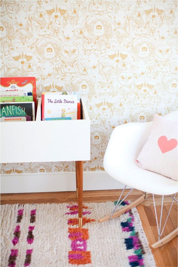 How about the DIY book pins - Clever DIY Toy Storage & Organization Ideas & Projects For Kids