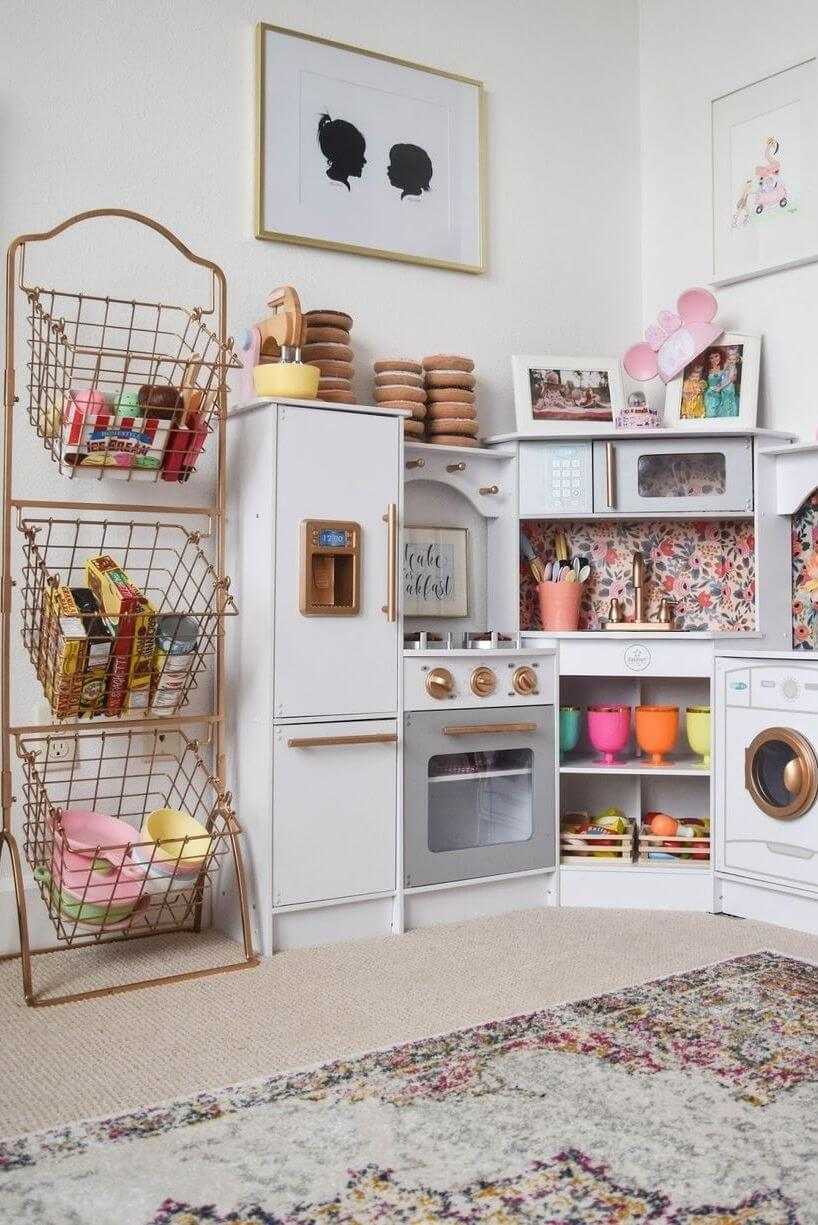 Storage and play area - Clever DIY Toy Storage & Organization Ideas & Projects For Kids
