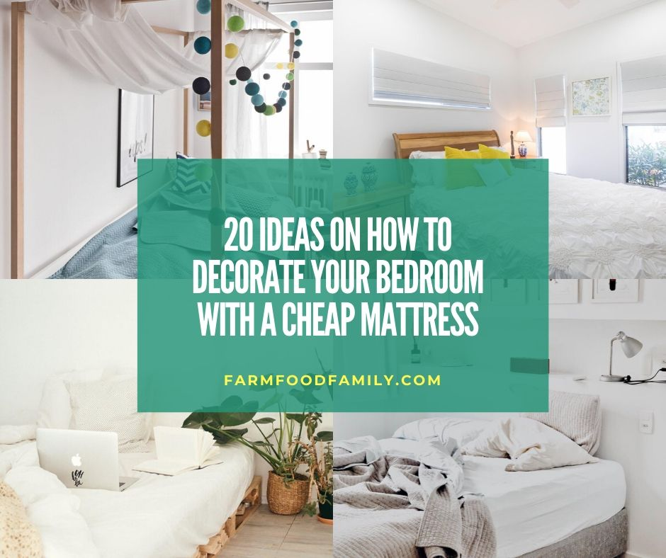 20 Clever Bedroom Decor Ideas Designs Ideas With A Cheap Mattress