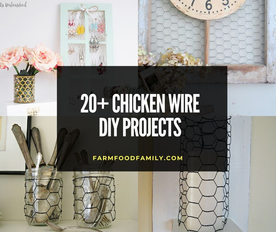 30 Small Backyard Landscaping Ideas On A Budget: 20+ Awesome Chicken Wire DIY Projects And Ideas (With