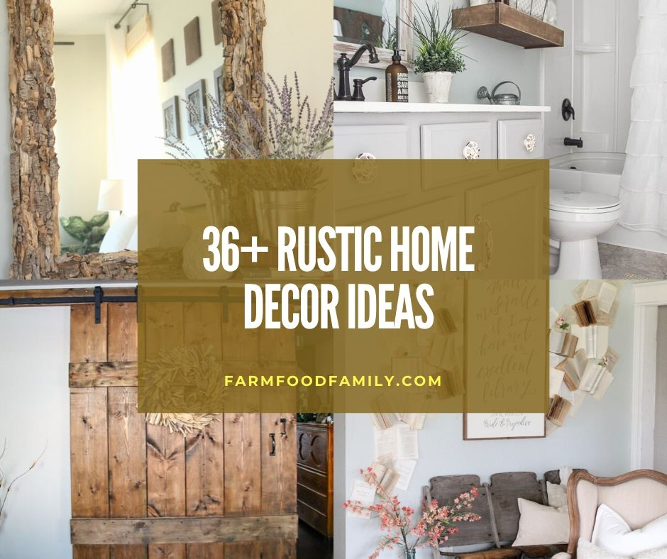 36+ Rustic Home Decor Ideas and Designs That Bring Charm To ...