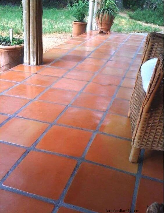 Terra Cotta Patio Tiles