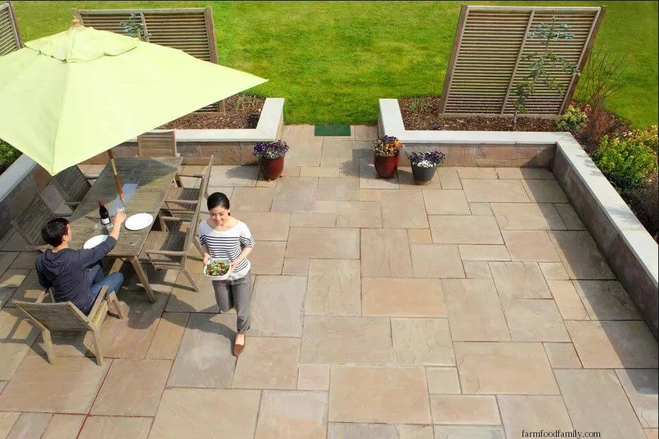 Consider Adding Granite Tiles to the Patio