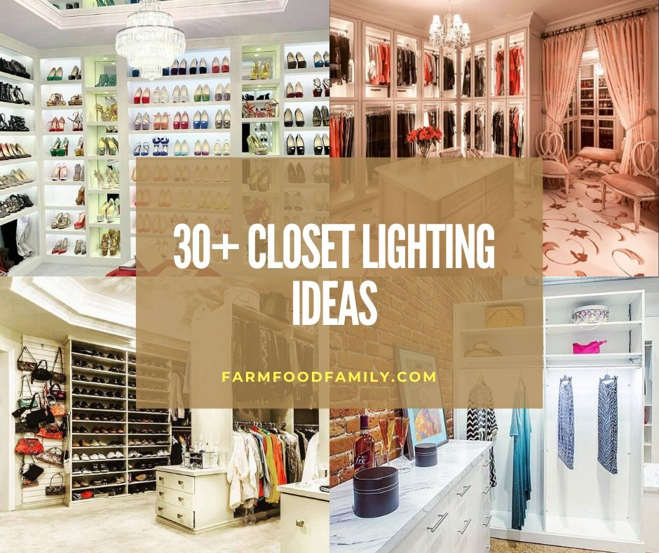 Best Closet Lighting Ideas Designs
