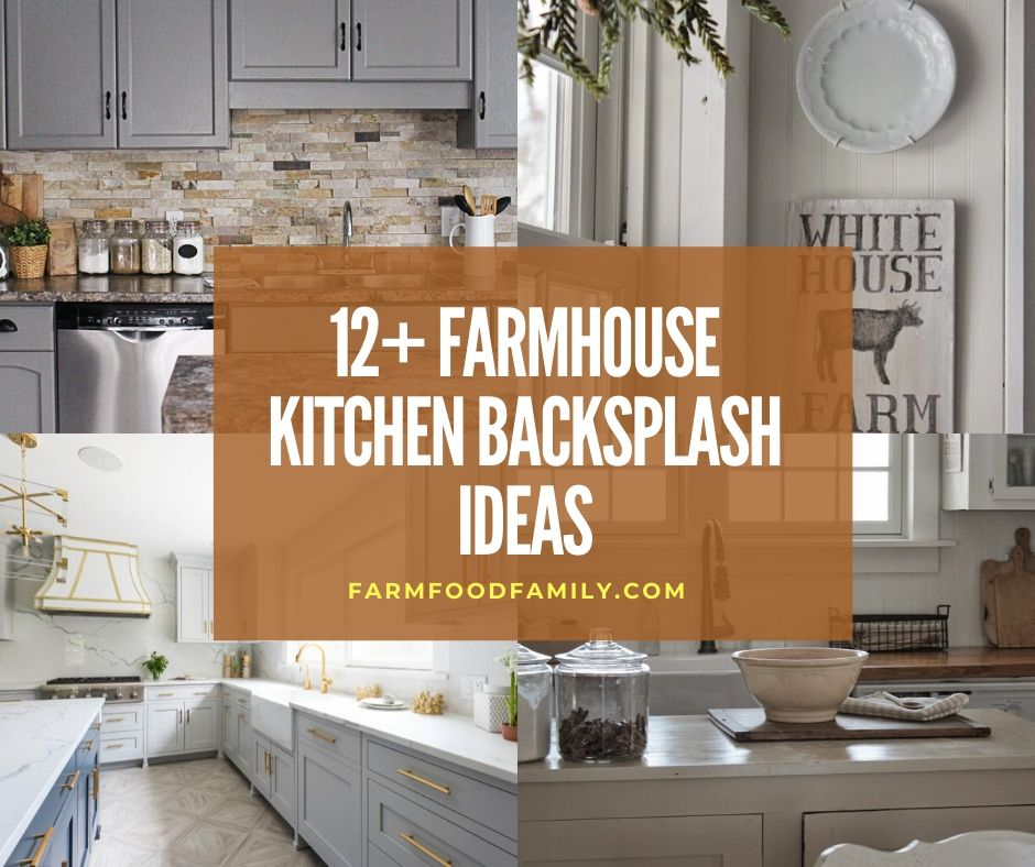 Stunning Farmhouse Kitchen Backsplash