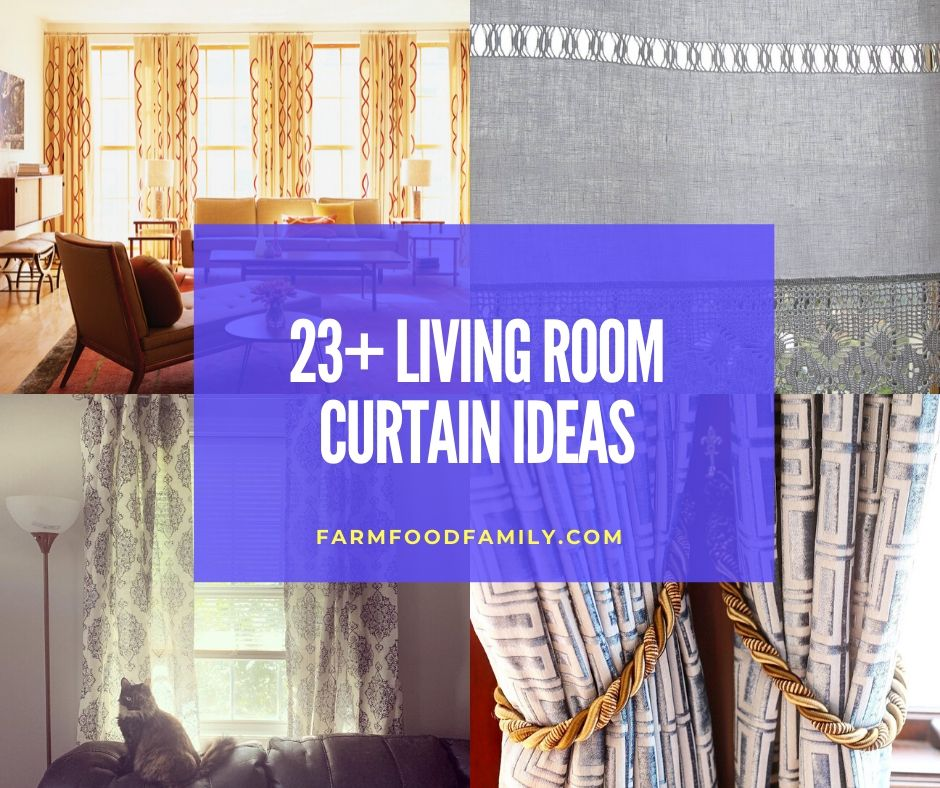 23 Beautiful Living Room Curtain Ideas For 2020 Window Coverings