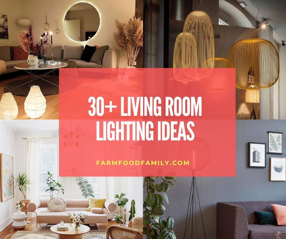 30+ Stunning Living Room Lighting Ideas & Designs For 2020