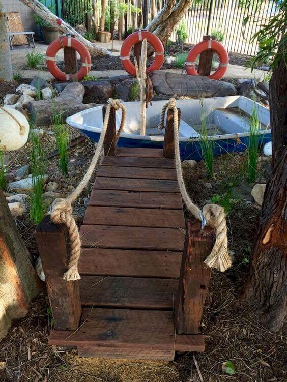 Shipwrecked bedding | Beach-Style Outdoor Ideas For Your Porch and Backyard