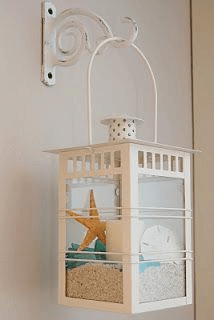 Nautical lantern | Beach-Style Outdoor Ideas For Your Porch and Backyard