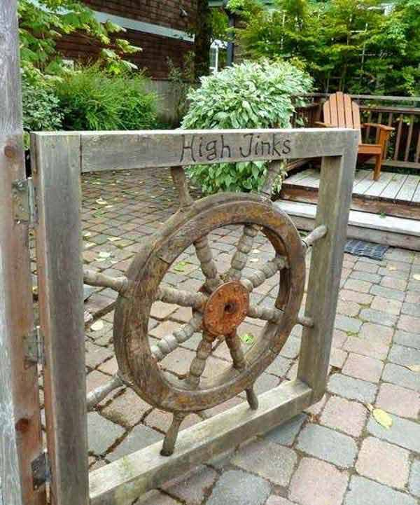 High Jink Wheel | Beach-Style Outdoor Ideas For Your Porch and Backyard