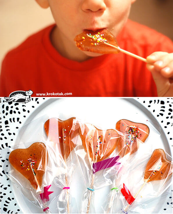 Heart Shaped Lollipops | Heart-Shaped Crafts For Valentine's Day