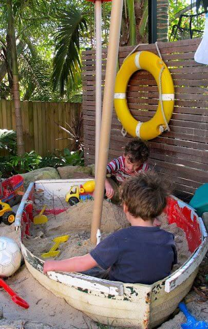 Sandpit | Beach-Style Outdoor Ideas For Your Porch and Backyard
