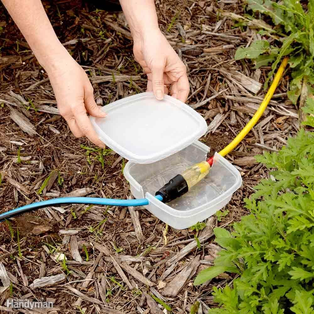 Keep Electrical Cords Dry