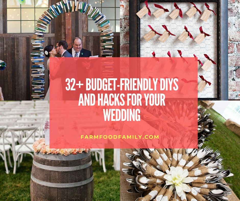 32+ Awesome DIYs And Hacks For Your Outdoor Wedding In 2020