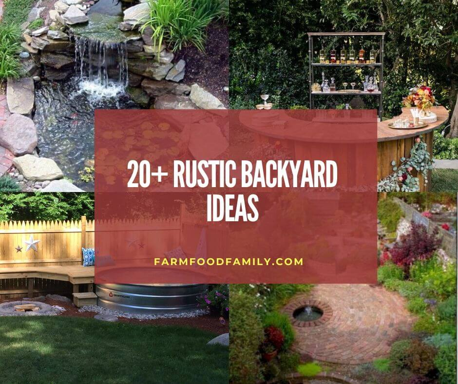 20 Rustic Backyard Ideas Designs Budget Friendly Landscaping