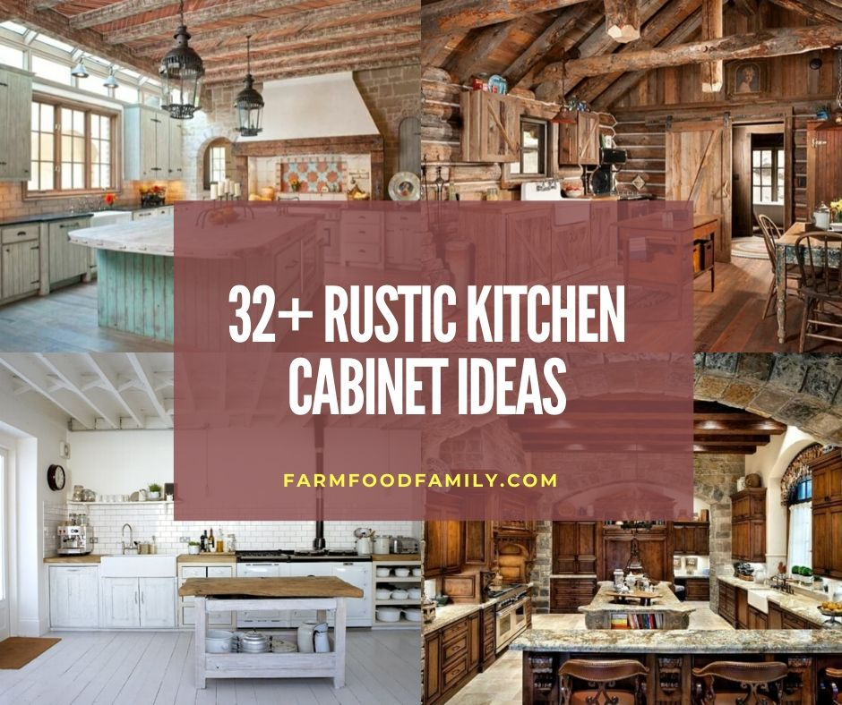 Rustic Kitchen Cabinet Ideas Projects
