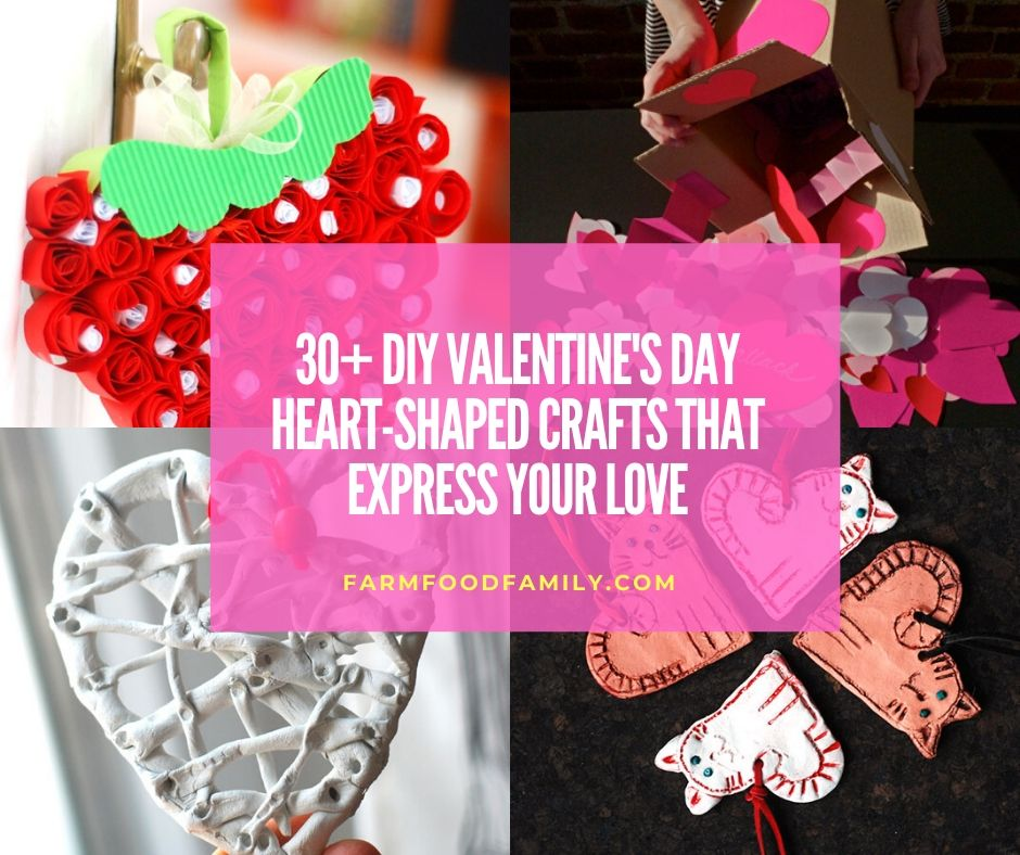 30 Best Diy Valentine S Day Heart Shaped Crafts And Ideas For 2020