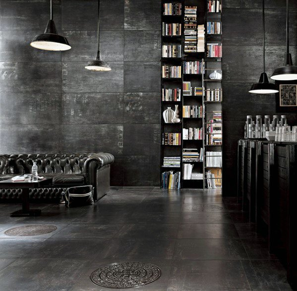 Industrial Cool Man Cave Ideas