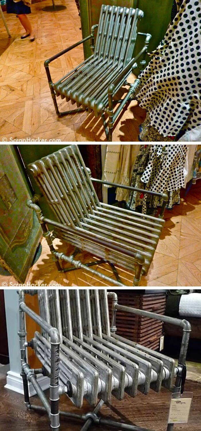 Radiator chair