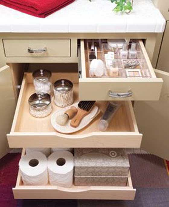 Multiple drawers