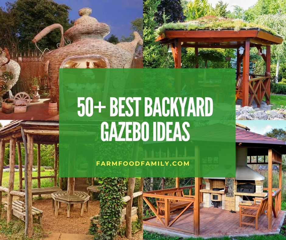 50+ Gorgeous Backyard Gazebo Ideas & Designs For Your ...